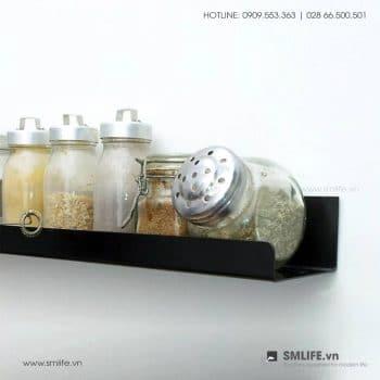 Kể để tranh P45, kệ thép gắn tường trang trí | SMLIFE