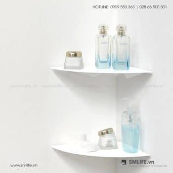 Kệ góc tường nhà tắm 24, kệ thép trang trí | SMLIFE