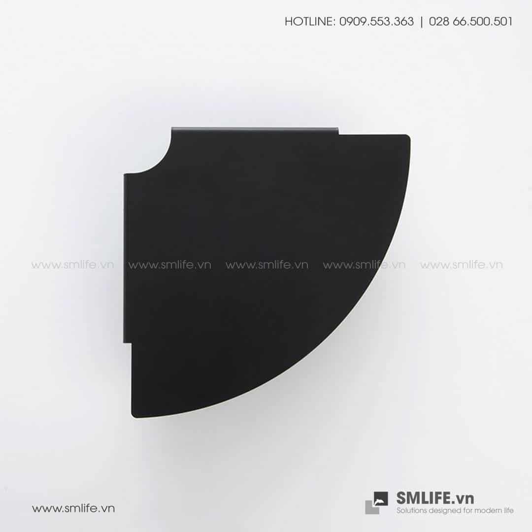 Kệ góc tường nhà tắm 24, kệ góc bằng thép đơn giản | SMLIFE