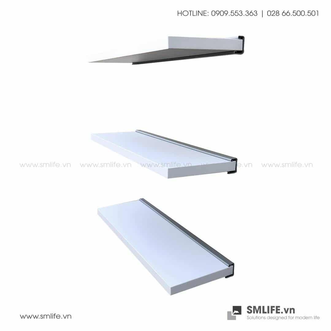 Kệ gỗ gắn tường, kệ gỗ trang trí đơn giản | SMLIFE