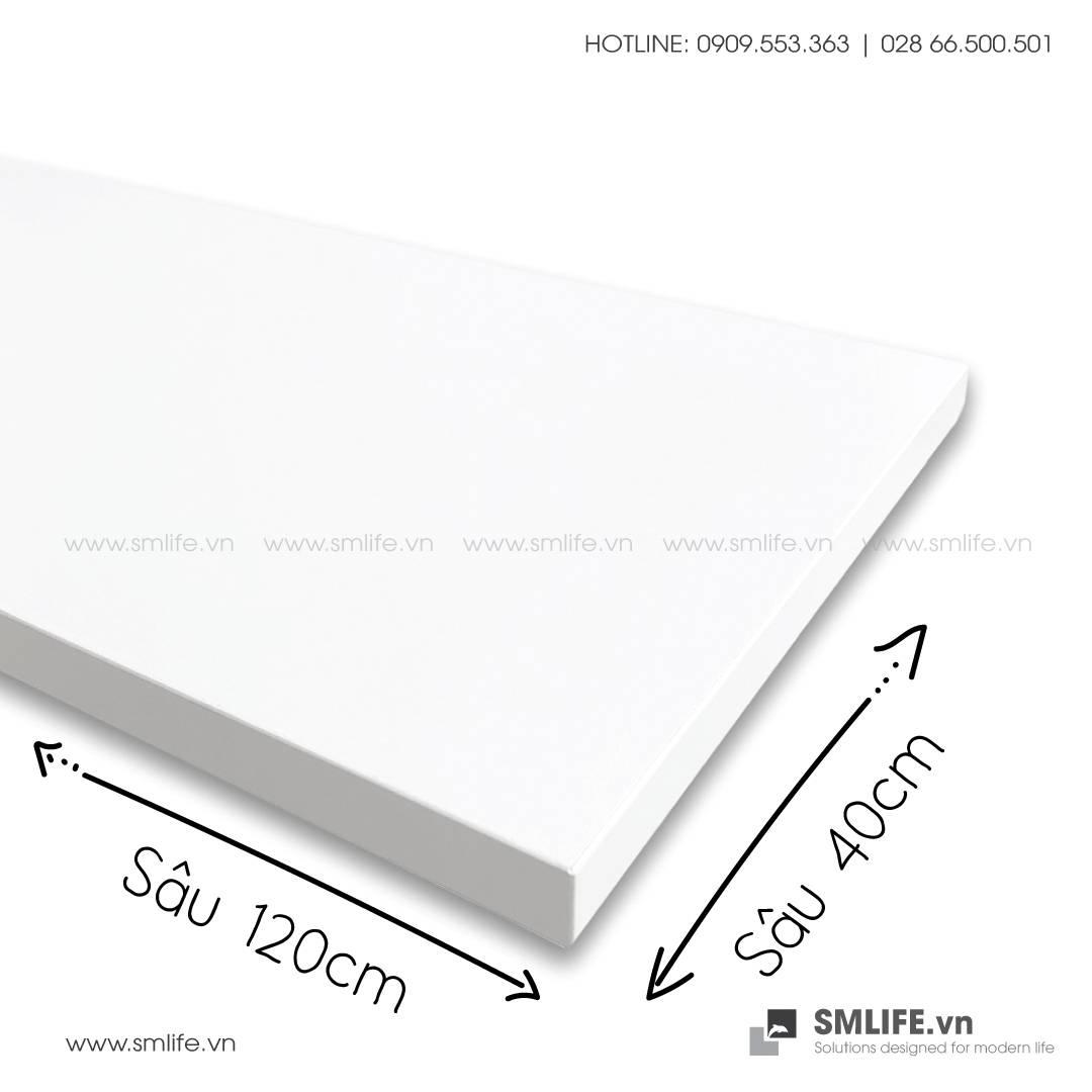 Kệ gỗ thanh ray lỗ đôi railshelf SMLIFE (3)