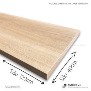 Kệ gỗ thanh ray lỗ đôi railshelf SMLIFE (5)