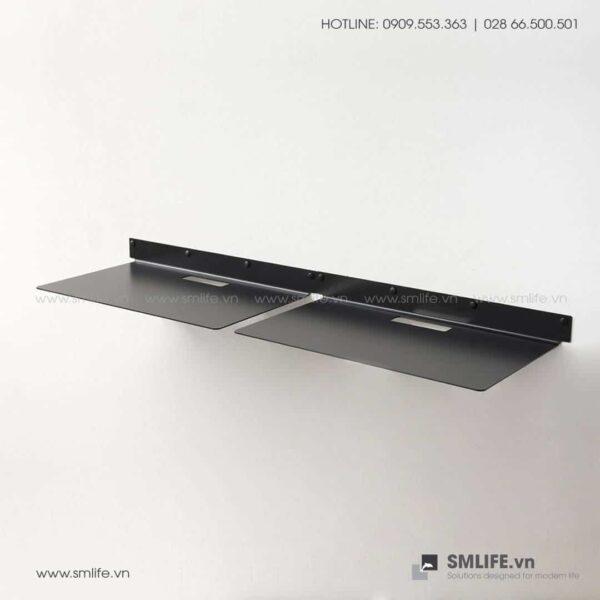 Kệ nhà bếp gắn tường 4525, kệ thép trang trí | SMLIFE