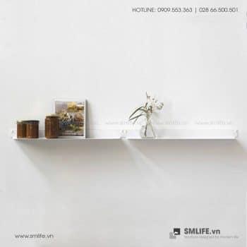 Kệ nhà bếp gắn tường 6015, kệ thép trang trí | SMLIFE
