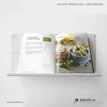 Kệ nhà bếp gắn tường L45, kệ thép trang trí | SMLIFE