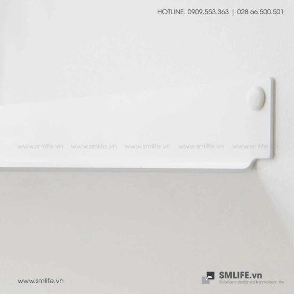 Kệ nhà tắm gắn tường 4515, kệ thép trang trí SMLIFE