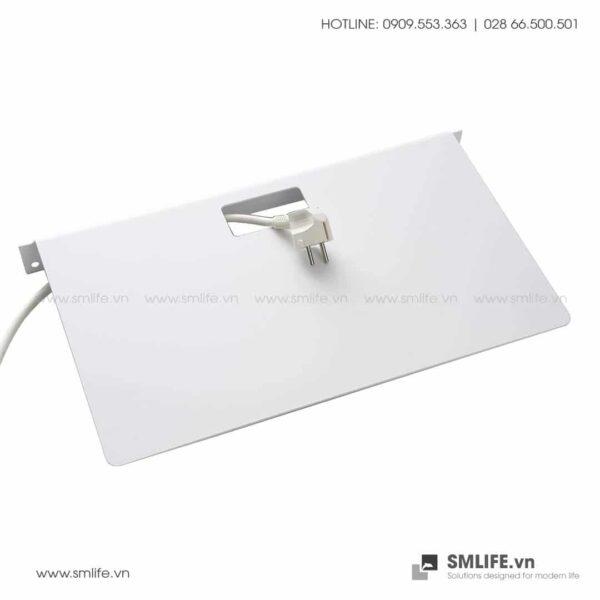 Kệ nhà tắm gắn tường 4525, kệ thép trang trí SMLIFE