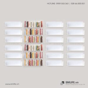 Kệ sách treo tường U45 SMLIFE