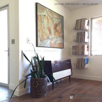 Kệ sách treo tường đơn giản bằng thép | SMLIFE