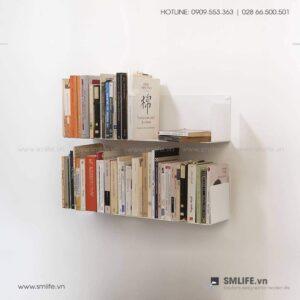Kệ sách treo tường chữ U SMLIFE