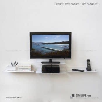 Kệ tivi treo tường bằng thép SMLIFE