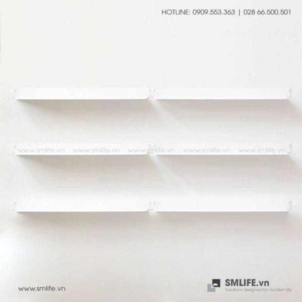 Kệ trang trí gắn tường 6015, kệ thép trang trí SMLIFE