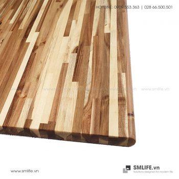 Mặt bàn tràm ghép 60x140cm | SMLIFE