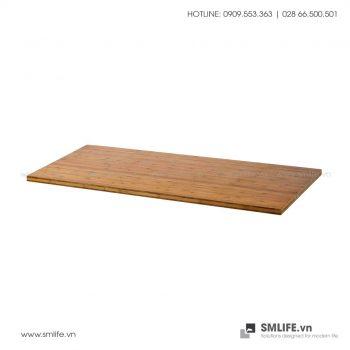 Mặt bàn tre ép hình chữ nhật (nhiều độ dày) | SMLIFE