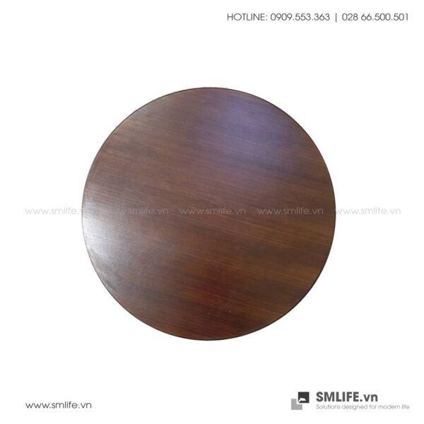 Mặt bàn tre ép Tròn D50, dày 2.5cm   SMLIFE