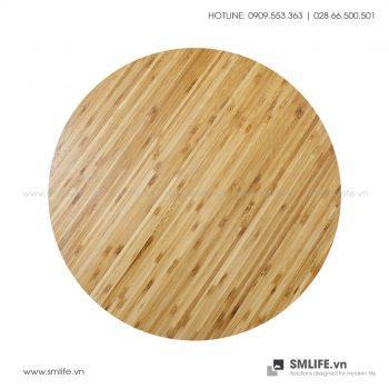 Mặt bàn tre ép Tròn D60, dày 2.5cm | SMLIFE