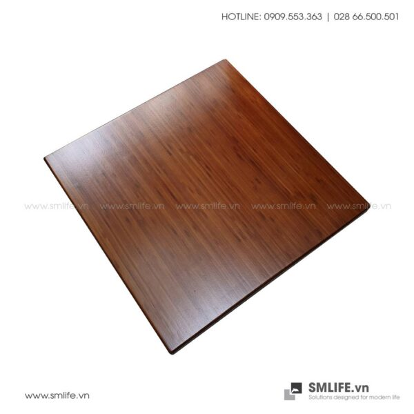 Mặt bàn tre ép Vuông SQ60, dày 2.5cm | SMLIFE