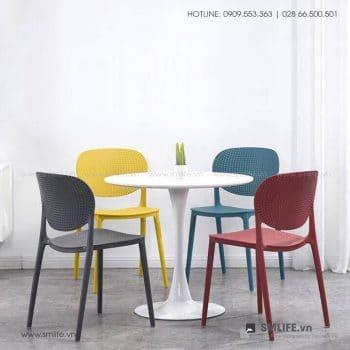 Bộ bàn ghế cafe tiếp khách hiện đại SHANE BURNETT