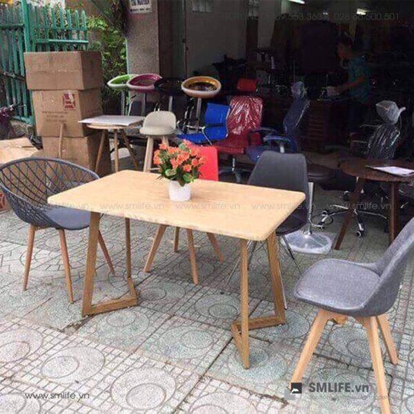 NP - Bàn ăn, bàn café PAOLO 70x120x75cm - BAN-NPF-T07 (2)