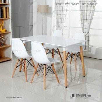 Bộ bàn ghế cafe tiếp khách hiện đại MARC SUE