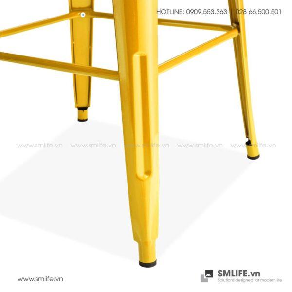 NP - Bàn TOLIX vuông bar 105cm - BAN-NPF-T6010 (1)