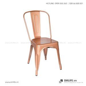 NP - Ghế ăn, ghế cafe TOLIX A hồng kim - GHE-NPF-193.HongKim (4)