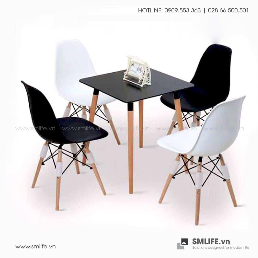 NP - (Trùng NTF) Bàn ăn, bàn café CHRISTINA 80x80x75cm - BAN-NPF-T06 (1)