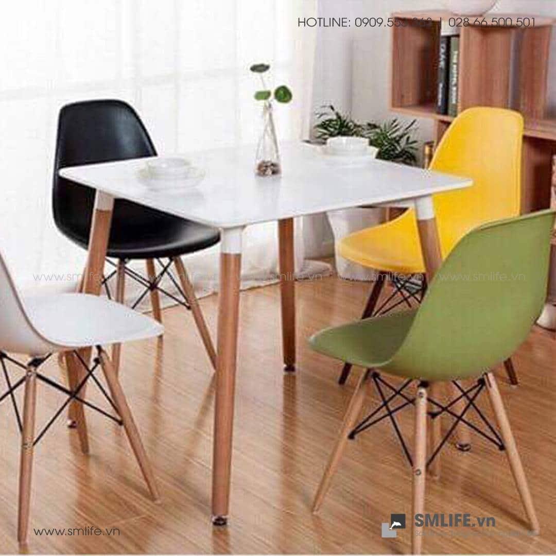 NP - (Trùng NTF) Bàn ăn, bàn café CHRISTINA 80x80x75cm - BAN-NPF-T06 (2)
