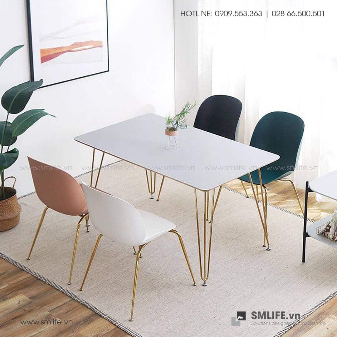 NT - Bộ bàn ghế ăn hiện đại TIMBER ALDO (1)