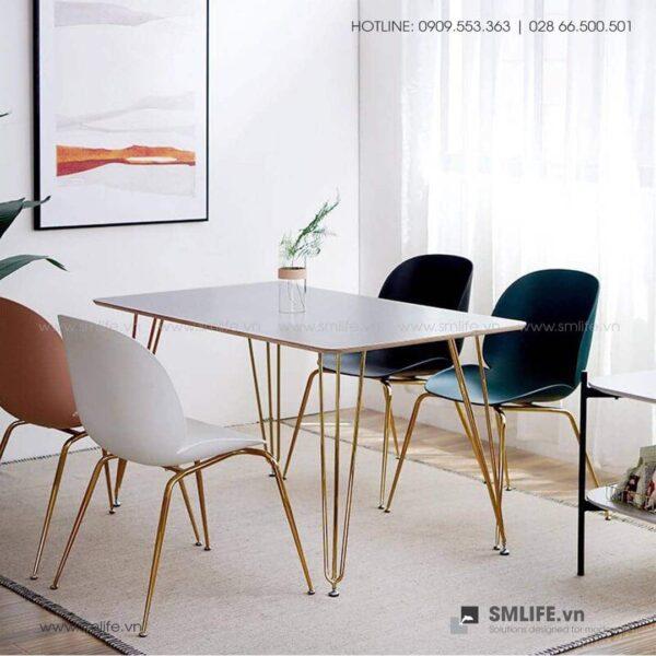 NT - Bộ bàn ghế ăn hiện đại TIMBER ALDO (2)