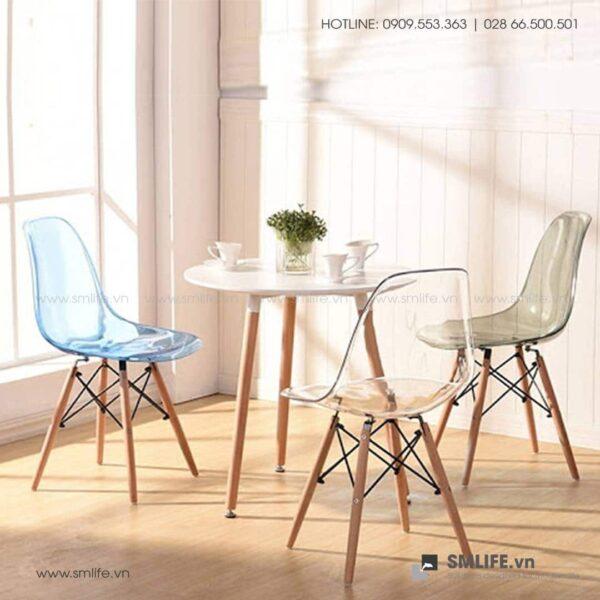 NT - Bộ bàn ghế cafe tiếp khách hiện đại ATALA BRYAN