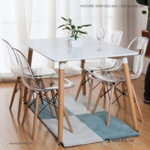 NT - Bộ bàn ghế cafe tiếp khách hiện đại ATALA SUE