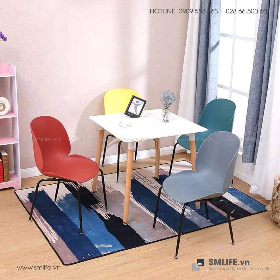 NT - Bộ bàn ghế cafe tiếp khách hiện đại HAILE CHRISTINA