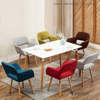 NT - Bộ bàn ghế cafe tiếp khách hiện đại JEFFREY SUE