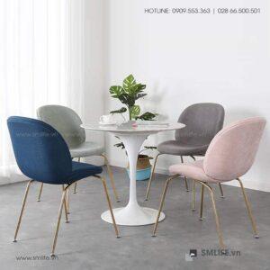 NT - Bộ bàn ghế cafe tiếp khách hiện đại LUKE BURNETT