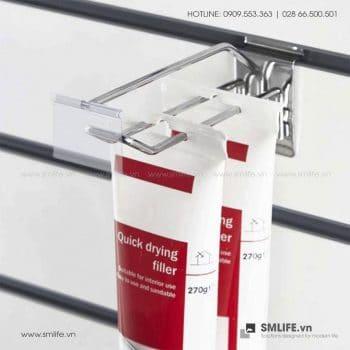 Móc đôi Slatwall kèm bảng giá | SMLIFE