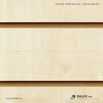 Tấm gỗ xẻ rãnh Slatwal, bảng gỗ Slatwall trưng bày | SMLIFE