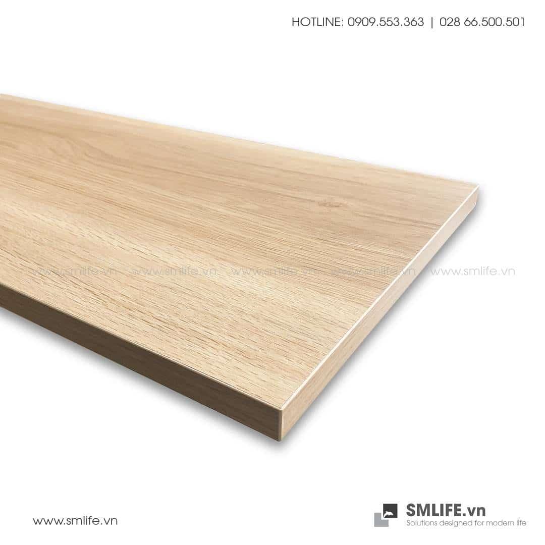 Tấm kệ gỗ thanh ray lỗ đôi railshelf
