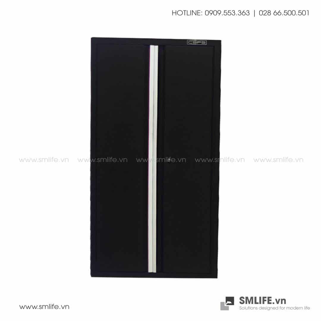 Tủ Đựng Dụng Cụ 2 Cửa 4 Ngăn CSPS – W45xL75xH181cm (Màu Đen)
