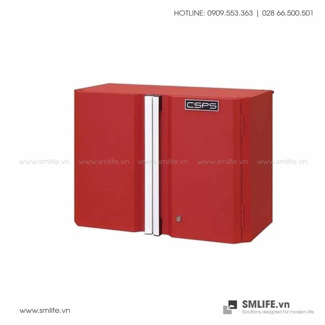 Tủ Đựng Dụng Cụ Treo Tường CSPS – W35xL61xH61cm (Màu Đỏ)
