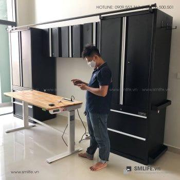 Tủ đựng dụng cụ cơ khí SMLIFE cao cấp