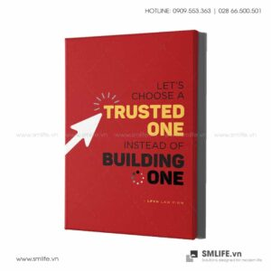 Tranh động lực văn phòng | Let's choose a trusted one instead of building one