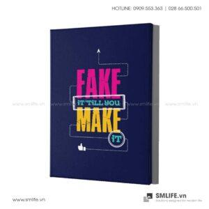 Tranh động lực văn phòng | Fake it'till you make it