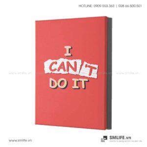Tranh động lực văn phòng | I can't do it