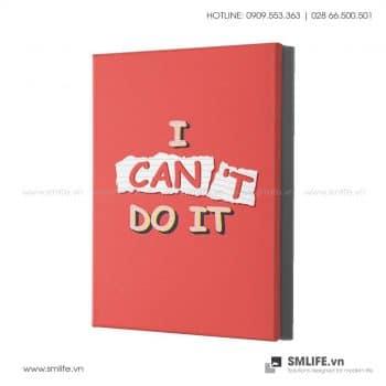 Tranh văn phòng | I Can Do It