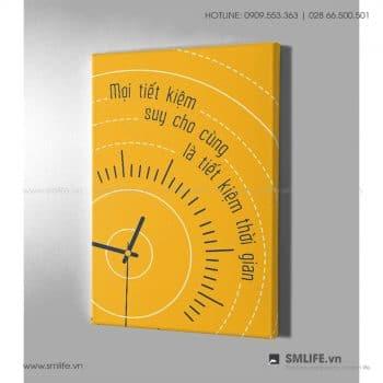 Tranh động lực văn phòng | Mọi tiết kiệm suy cho cũng là tiết kiệm thời gian