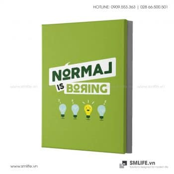 Tranh động lực văn phòng | Normal is boring