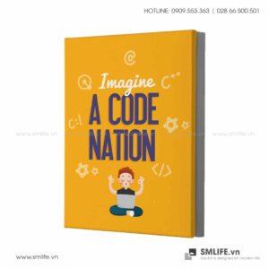Tranh động lực văn phòng | Imagine A Code Nation