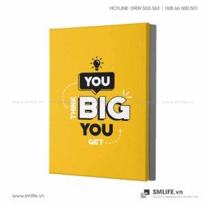 Tranh động lực văn phòng | You think Big you get Big