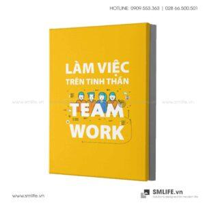 Tranh động lực văn phòng | Làm việc trên tinh thần team work